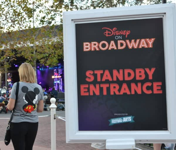 Standby line for Disney on Broadway