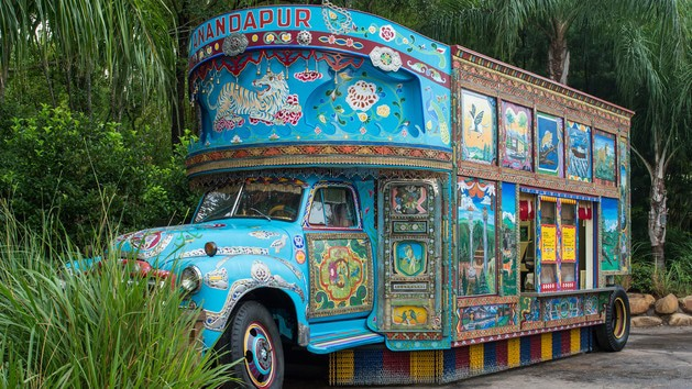 Animal Kingdom Dining - Anandapur Ice Cream Truck