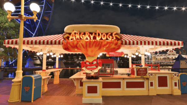 Angry Dogs in DCA