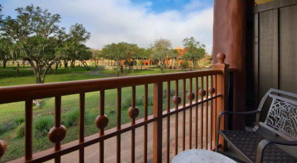 Savanna view from standard room at Animal Kingdom Lodge