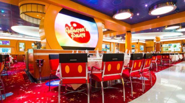 Animator's Palate on Disney Wonder