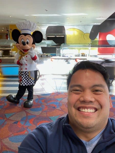 anthony with mickey mouse WDW Prep to Go Podcast
