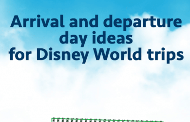 arrivaldeparturesquare 390x250 - Arrival and departure day ideas for Disney World trips - PREP094