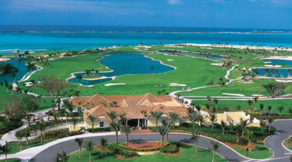 Atlantis Ocean Club Golf Course in Nassau