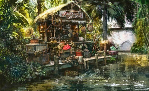 jungle cruise trader sam update scene