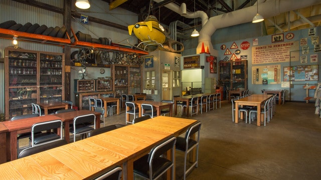Hollywood Studios Dining - Backlot Express (lunch)