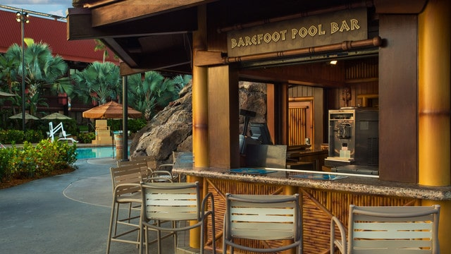 Polynesian Village Resort - Barefoot Pool Bar