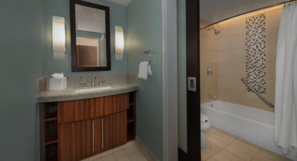 Bay Lake Tower villa bathroom