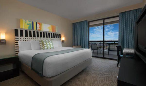 Bay Lake Tower villa bedroom