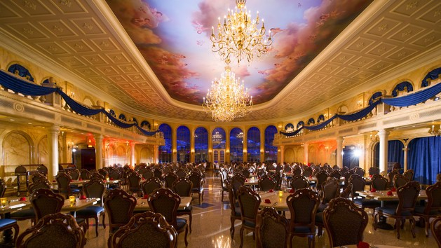 be our guest restaurant 00 - Guide to all character meals at Disney World