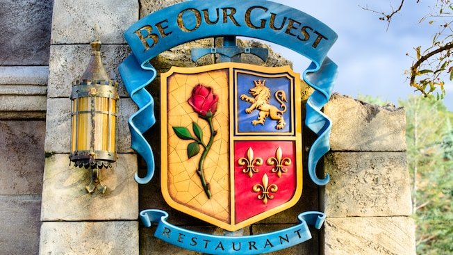 Be Our Guest Beauty and the Beast at Disney World