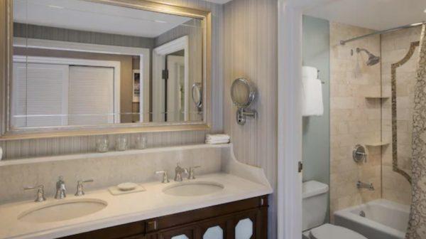Beach Club resort Club Level bathroom