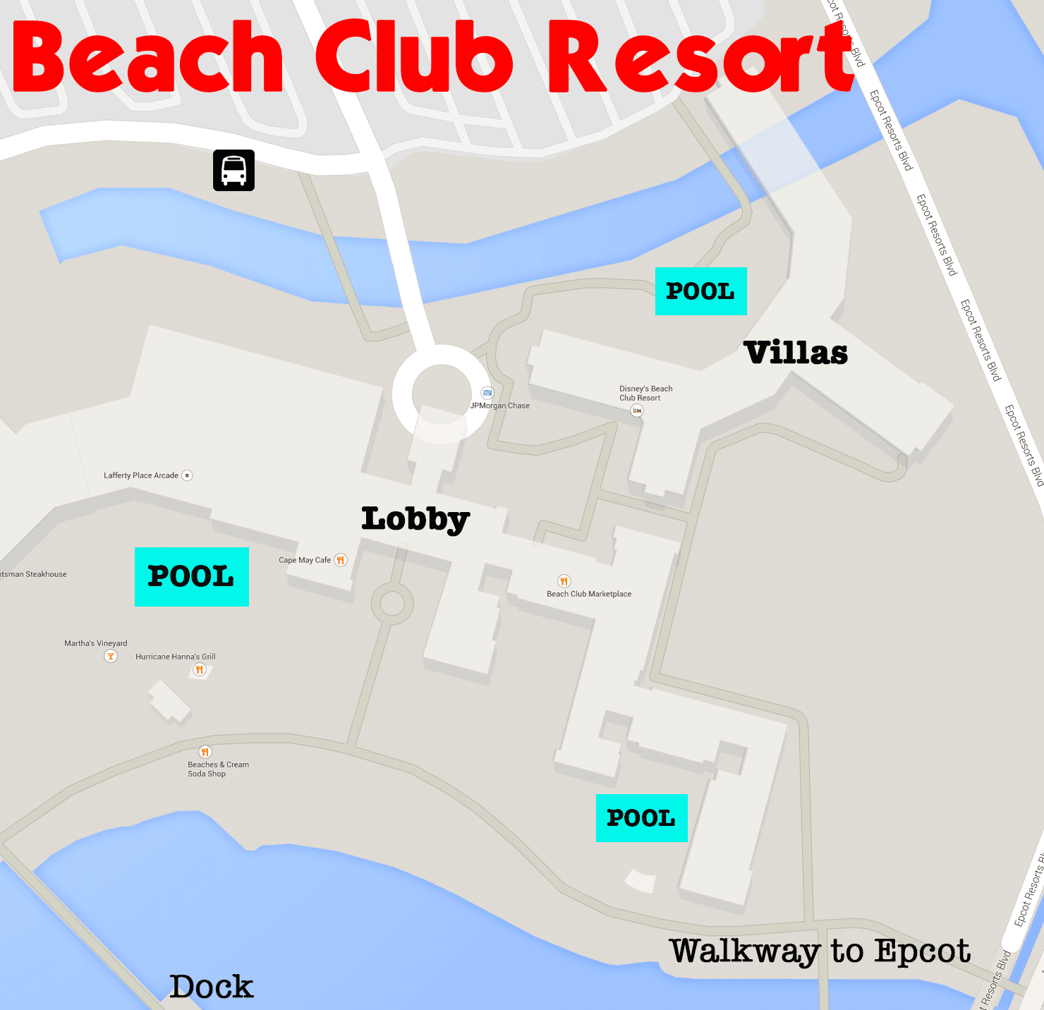 beach club resort walt disney world