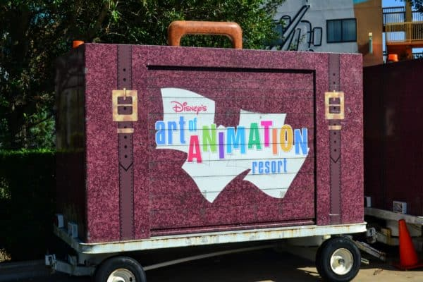 Art of Animation luggage services
