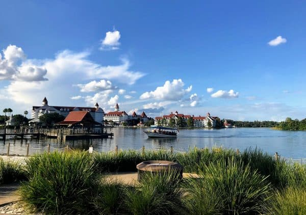 Poly beach looking at Grand Floridian