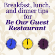 Be Our Guest restaurant at Disney World | WDW Prep School
