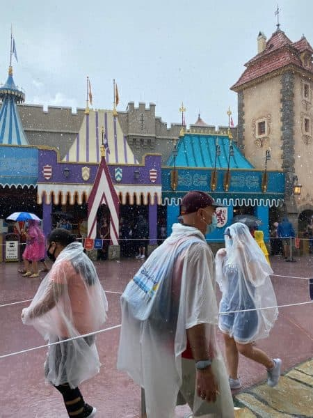 poncho rain disney world