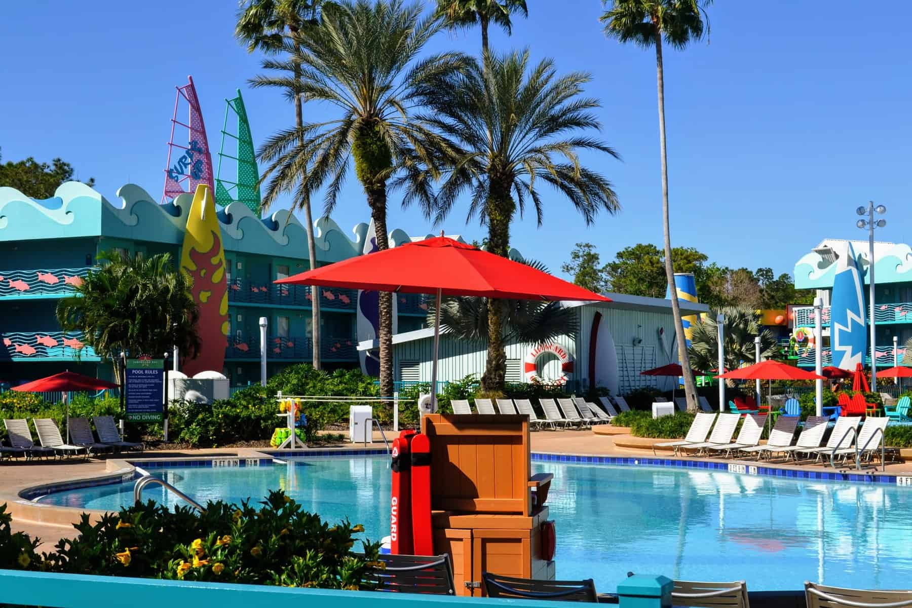 pool at all-star sports