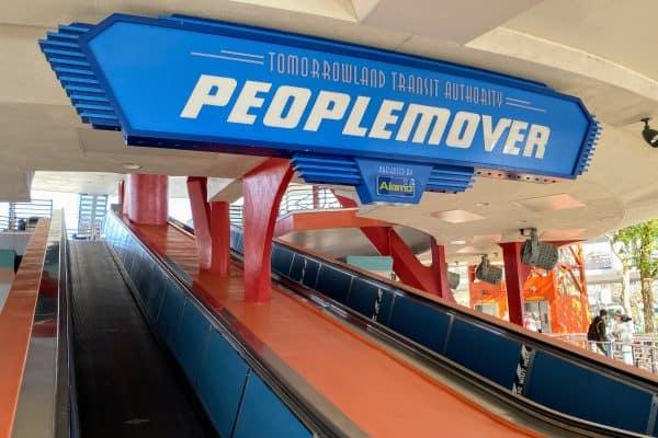Best things at Disney World Peoplemover