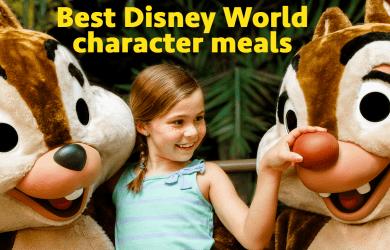 bestcharactermeals 390x250 - The best Disney World character meals - PREP123