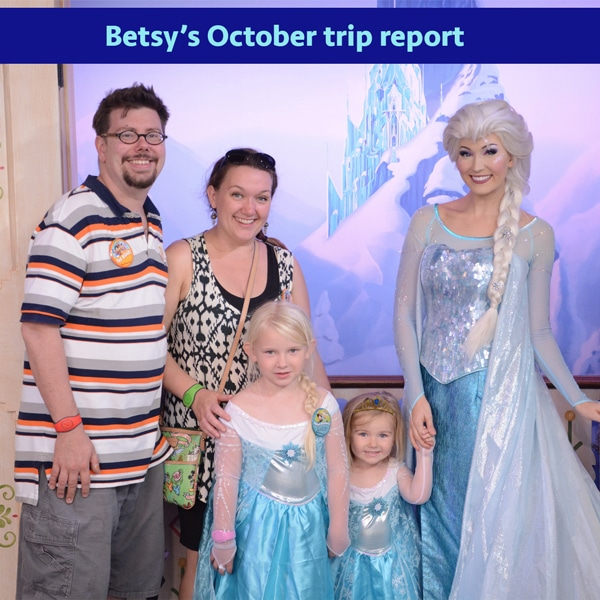 Betsy's October trip report