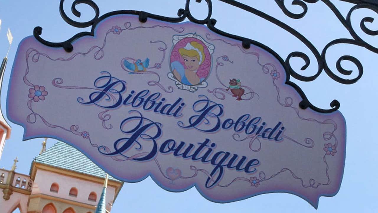 Bibbidi Bobbidi Boutique at Disneyland