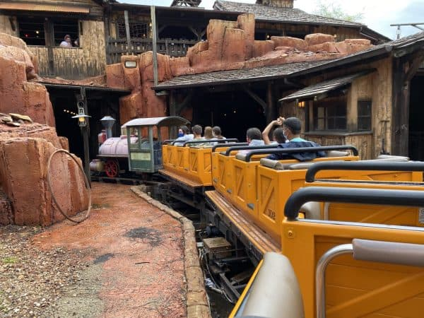 big thunder mountain railroad ride vehicles