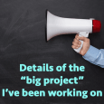 """bigprojectsquare 115x115 - Revealing details of """"The Big Project"""" - PREP120"""