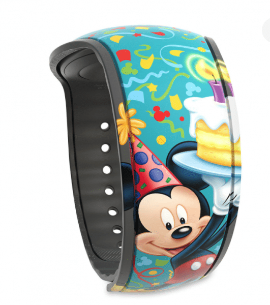 birthday MagicBand 531x600 - Our favorite ideas for celebrating a birthday at Disney World