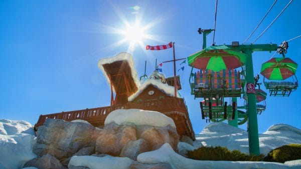 Blizzard Beach water park