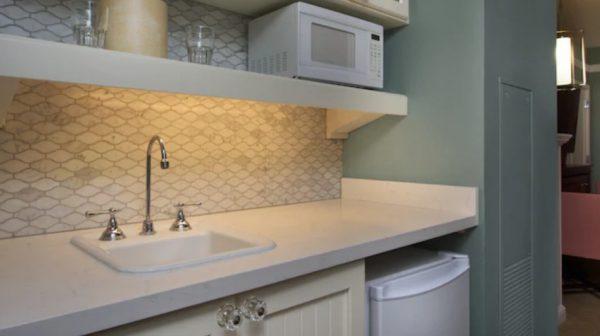 BoardWalk Villas deluxe studio kitchenette