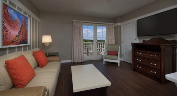 BoardWalk Villas one bedroom sitting area