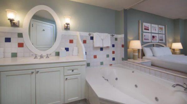 BoardWalk Villas one bedroom bathroom