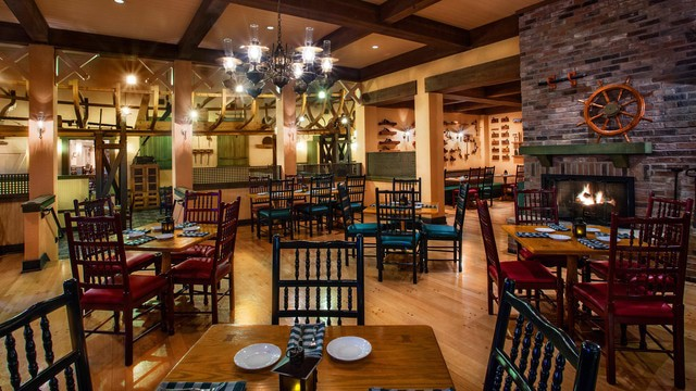 Port Orleans – Riverside - Boatwright's Dining Hall (dinner)