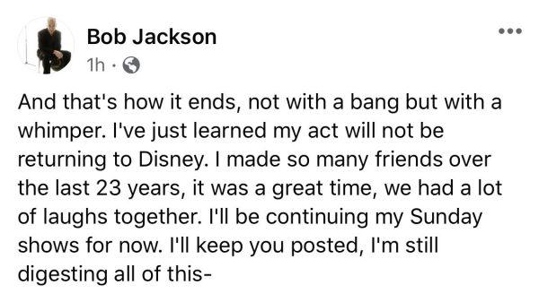 Yehaa Bob Jackson statement