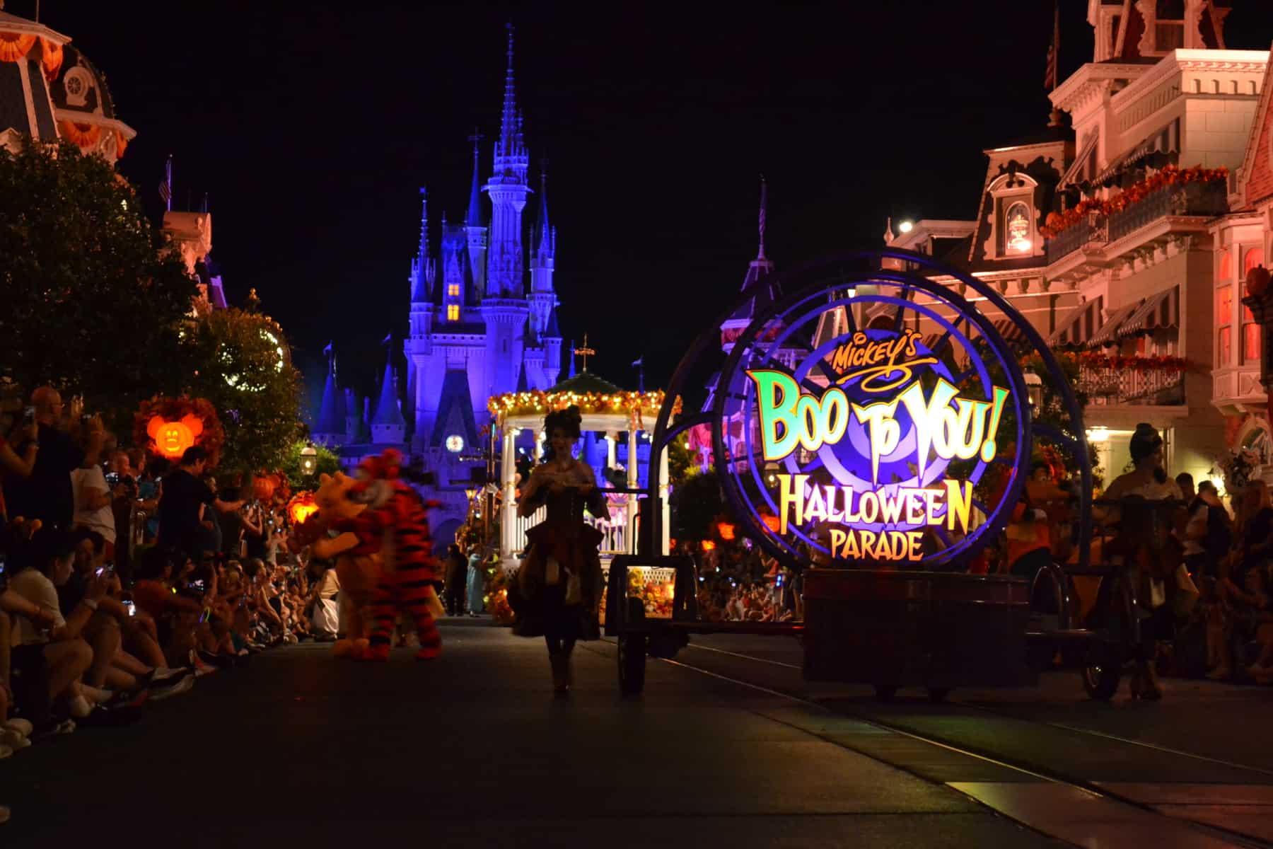 Boo-to-You Parade (seasonal)