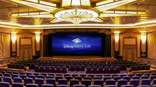 Buena Vista Theatre on Disney Cruise Line
