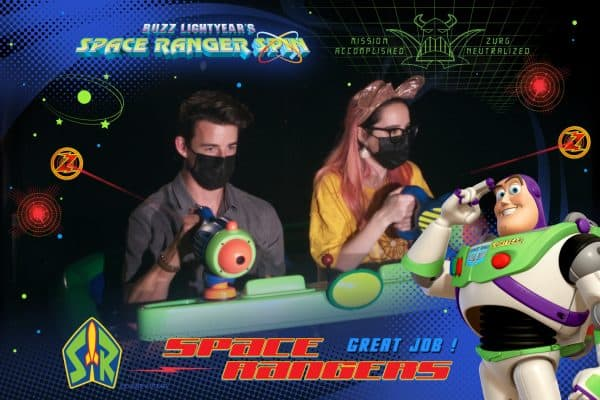 Buzz Lightyear Space Ranger Spin ride photo