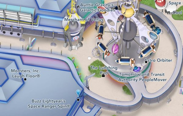 buzz lightyear's space ranger spin map location