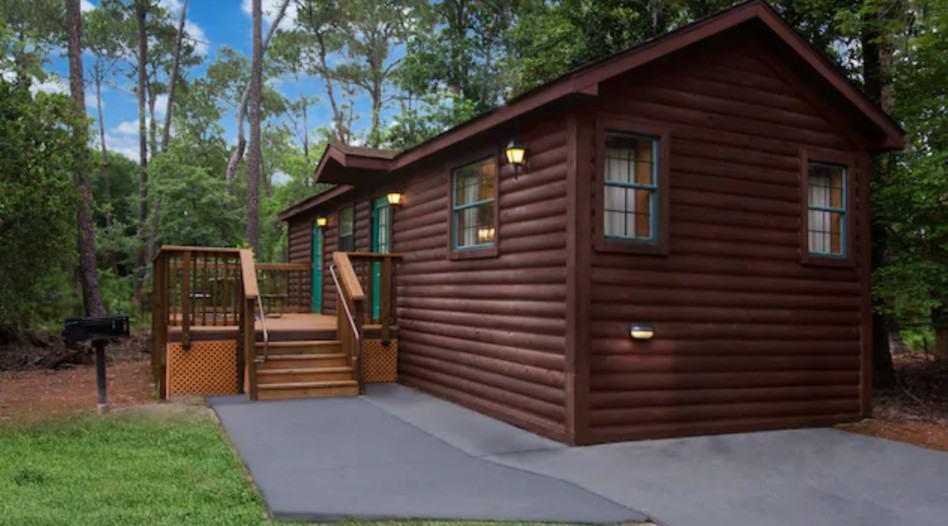 Cabins at Walt Disney World's Fort Wilderness