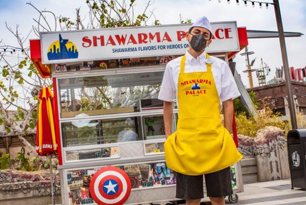 shawarma palace avengers campus