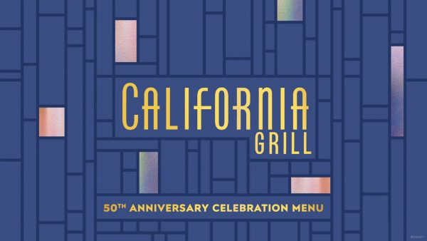 california grill limited-time 50th menu