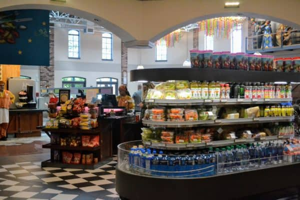 Port Orleans French Quarter food court