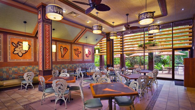 Polynesian Village Resort - Capt. Cook's (dinner)