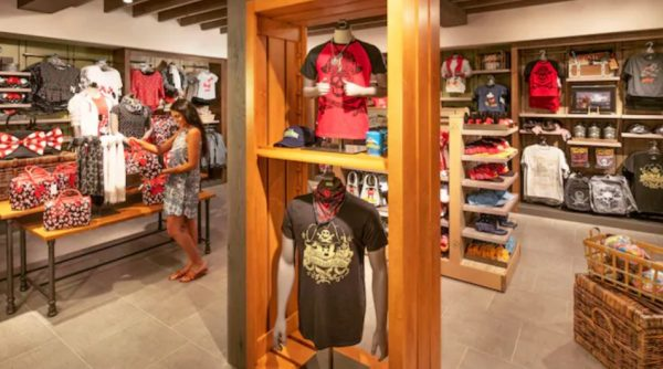 Gift store at Disney's Caribbean Beach Resort
