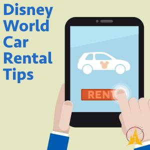 How Disney World car rental works discounts tips more