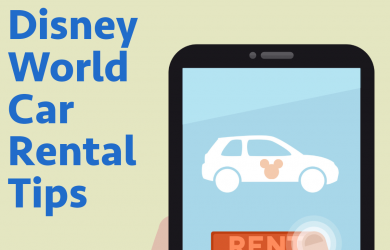 Disney World Car Rental tips