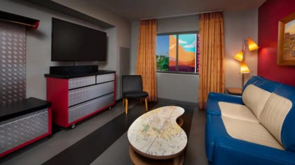 Cars family suite at Art of Animation