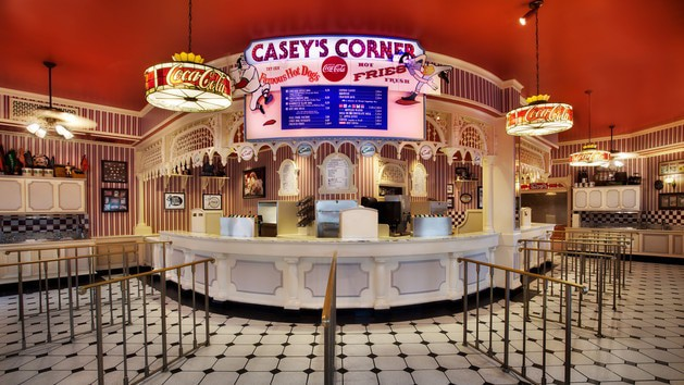 Pros and Cons for All Magic Kingdom Restaurants - Casey's Corner (lunch) – Temporarily Closed