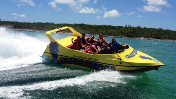 Castaway Cay jet boat tour